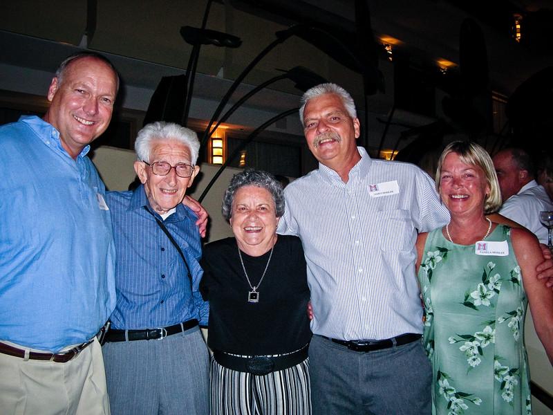 George Hopper (GCM1972), Father Goeller, Mother ----, Kevin Mohler, Pam Mohler