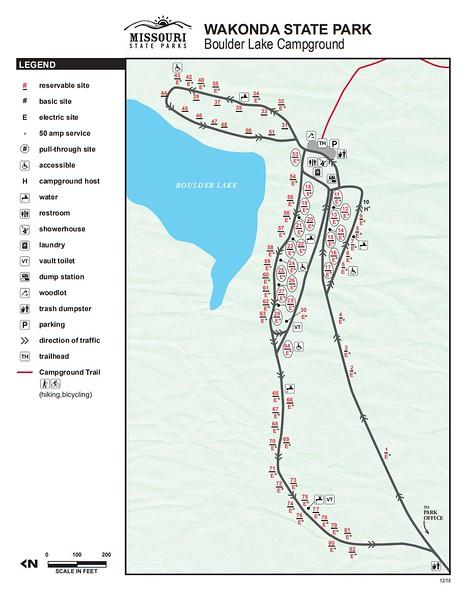 Wakonda State Park (Boulder Lake Campground)
