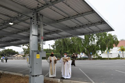 08-11-2020 Blessing of the solar panels