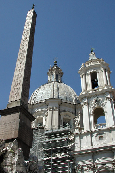 Piazza Navona, Rome / Karen Perrin Photo