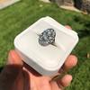 1.75ctw Edwardian Toi et Moi Old European Cut Diamond Ring  73