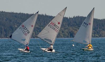 July 30th Laser sailing