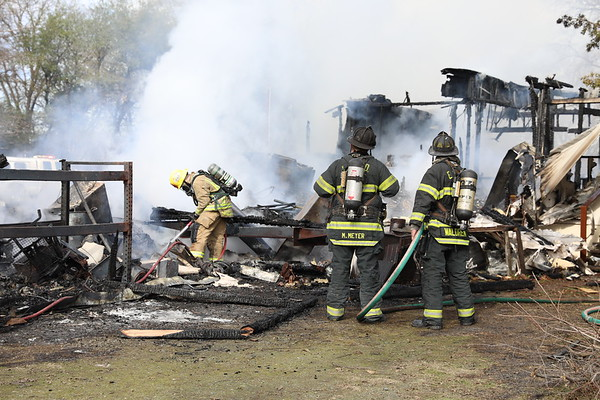 Fire consumes Palermo home