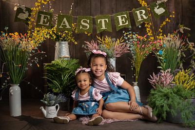 Jocelyn and Aubriella Easter