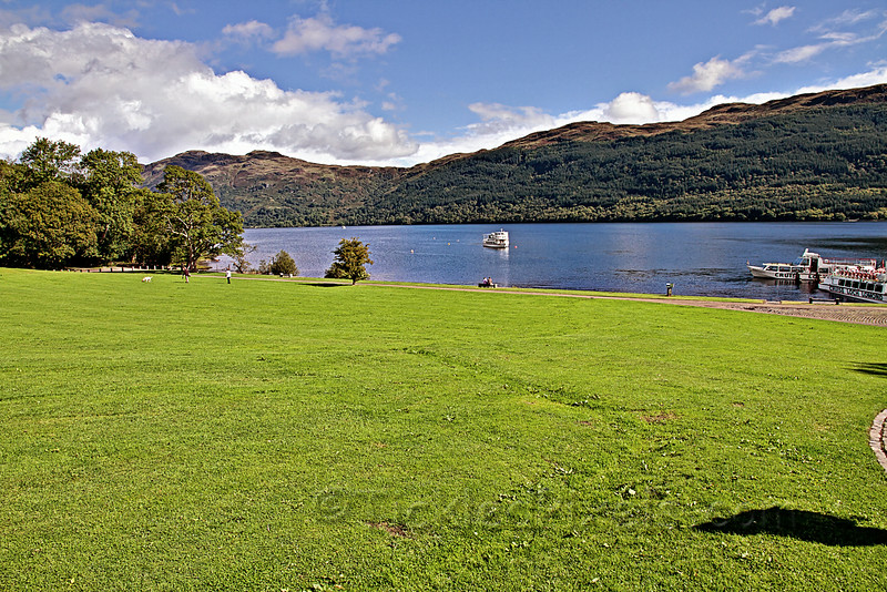 Loch Lomond at Tarbet
