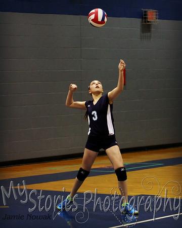 Jr. High Volleyball 2014