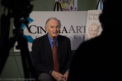 Alan Alda at Cinema Arts Center in Huntington