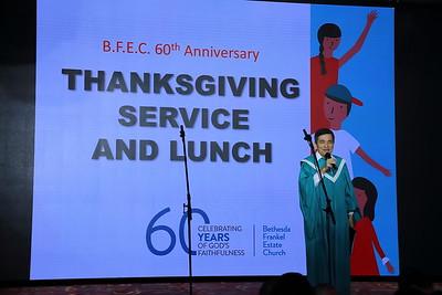 BFEC 60th Anniversary
