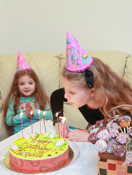 Michelle, 8 Years Celebration - November, 2011