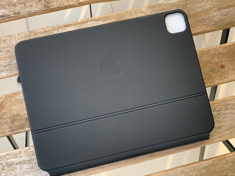 The back of Apple iPad Magic Keyboard Singapore