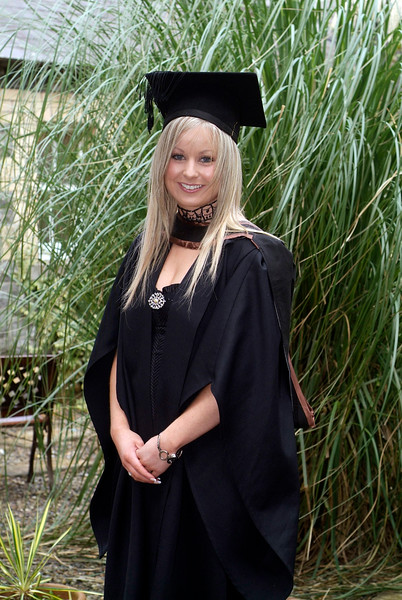 Jeralee O'Byrne, Ferrybank Waterford, pictured as she graduated with a BA (Hons) in Languages and Marketing at Waterford Institute of Technology.  (pic-photozone)