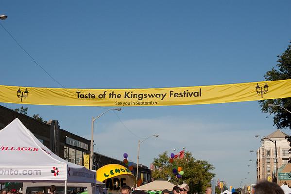 Taste of the Kingsway 2009