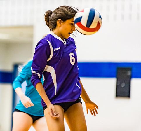 Volleyball, JV, 2015, 10-06-15, Paschal-2