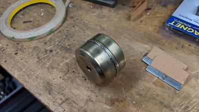 2019-01-14 Carburetor float repair
