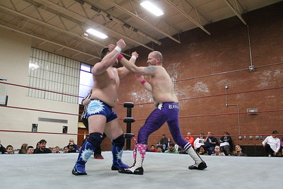 Liberty States Wrestling Collision Course April 25, 2015