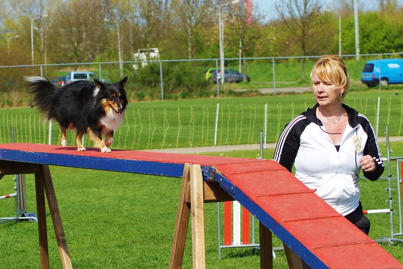 Onderlinge agilitywedstrijd ~ 10 april 2011