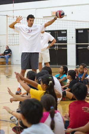 2012 Kawika Shoji Volleyball Clinic