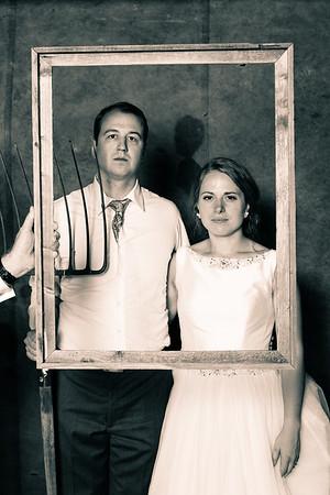 Andrea & Bill, the photobooth