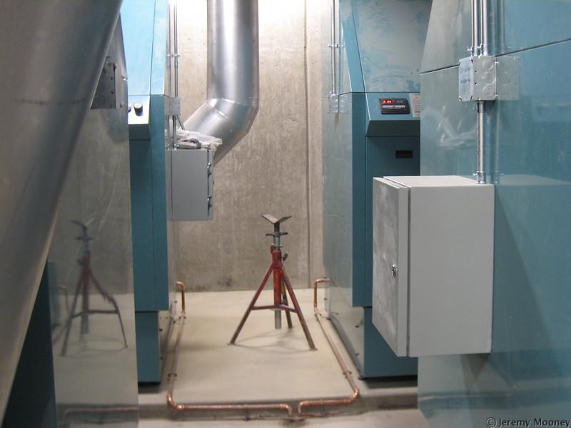 Boiler room - boilers