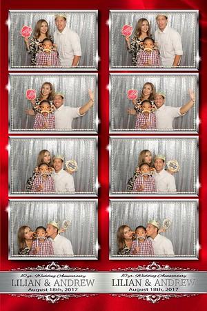 10th wedding Aniv 8/18/17