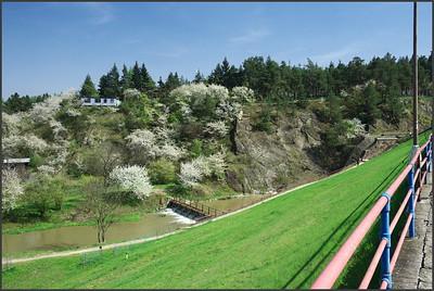 Plumlovská přehrada 25. 4. 2010