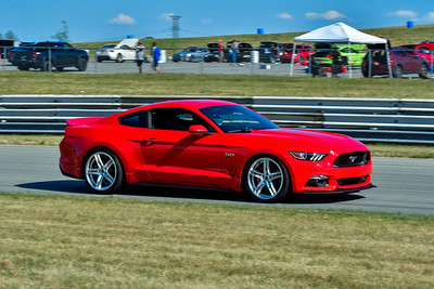 2020 SCCA TNiA July 29th Pitt Race Red Mustang