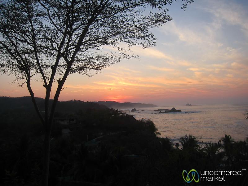 Dawn at Mazunte Beach - Mexico