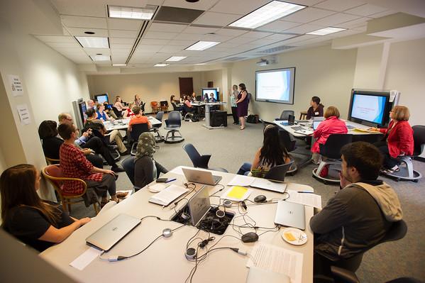 9/18/15 Mediascape Lab Workshop in Butler Library