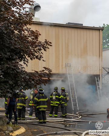 Commercial Building Fire - 7 Reynolds St, Norwalk, CT - 5/22/21