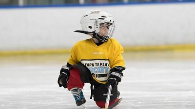 Learn to play hockey 7-6-2017