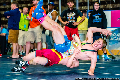 Greco - Part 3 - Cadet & Junior Greco - USA Wrestling Central Regionals 5-22-16
