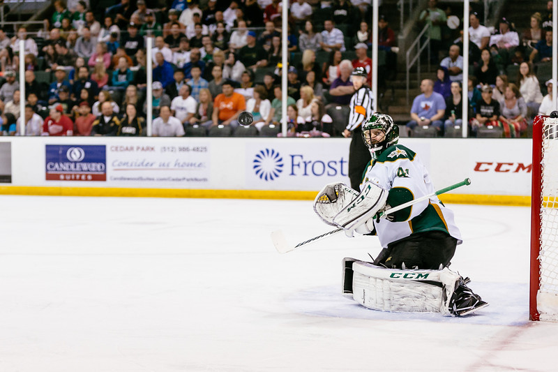 Texas Stars vs Grand Rapids Griffins at Cedar Park Center - May 18, 2014 - Stars win 7-1