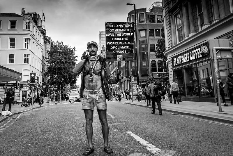 Extinction rebellion, Deansgate, Manchester