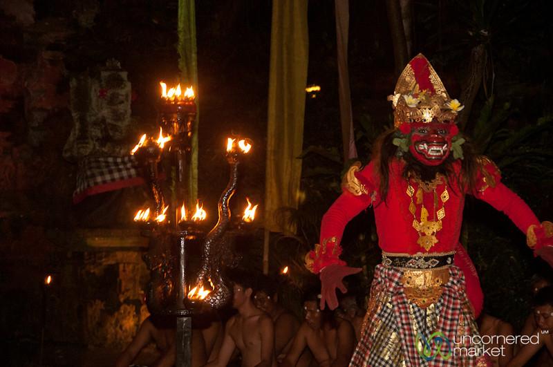 Prince Rama During Kecak Show - Ubud, Bali