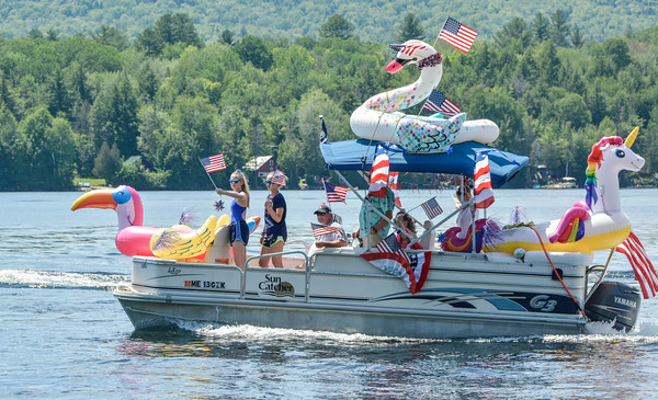Embden July 4th Boat Parade