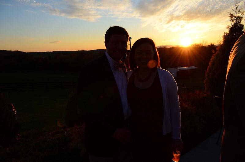 Dave and Caroline Garrett