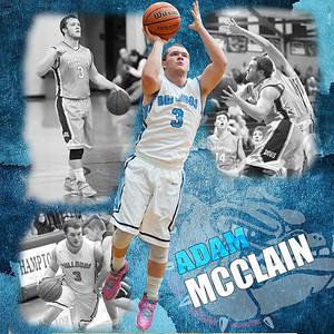 Hampton's Adam McClain
