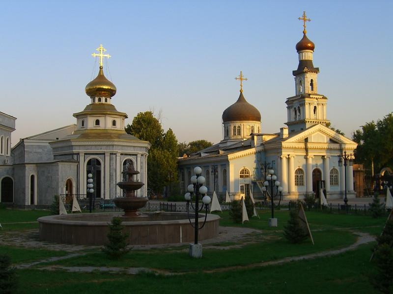 Uspensky Sobor, Russian Orthodox Church- Tashkent, Uzbekistan