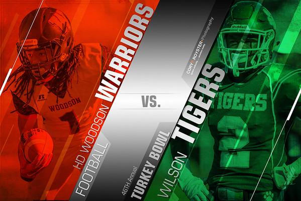 H.D. Woodson vs Wilson (DCIAA Turkey Bowl)