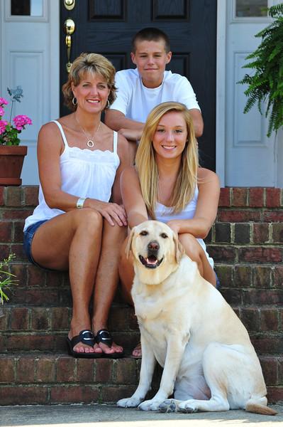 Melanie and family