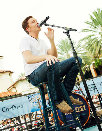 Scotty McCreery Concert - City Place 2012