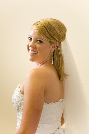 Bride before the Ceremony - Marcus & Sarah