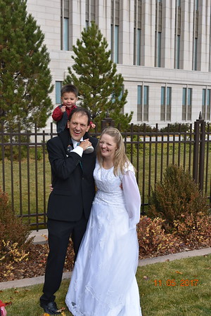 Janelle & Tyler 6th Wedding Anniversary @Oquirrh Mtn Temple