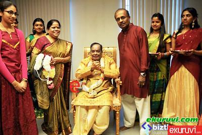 Pathmavibushan Dr.Balamuralikrina Karnatik Music..Canada Periyasivn kovil.    May/04/2013