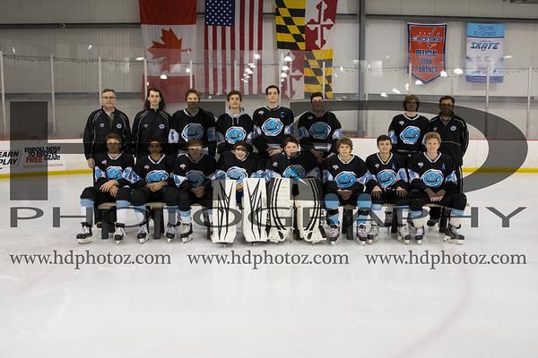 Huntingtown Varsity Ice Hockey 2017-2018