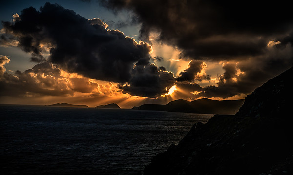 Sunsets in the Dingle Peninsula