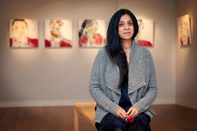 Shema Ladva: Portraits From Sainsbury's Exhibition
