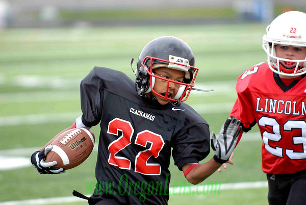 5-6 Grade Clackamas (Baker Black) vs. Lincoln 10/06/07