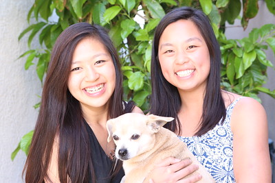Sydney and Christine Yang in Seal Beach 2017