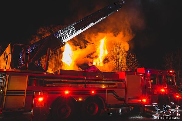Detroit MI, House Fire 1-9-2021 #2